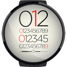 Android App AllNumbers HD Watchface