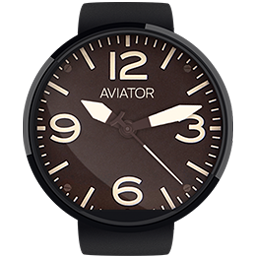 Android App Aviator HD Watchface