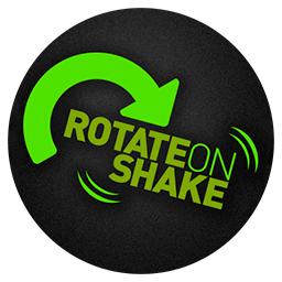 Android App Rotate on Shake