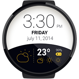 Android App Weather Watchface